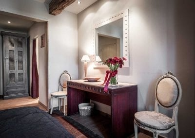 Kamer n°2 in hotel Auberge 'l Entrecôte in Kluisbergen